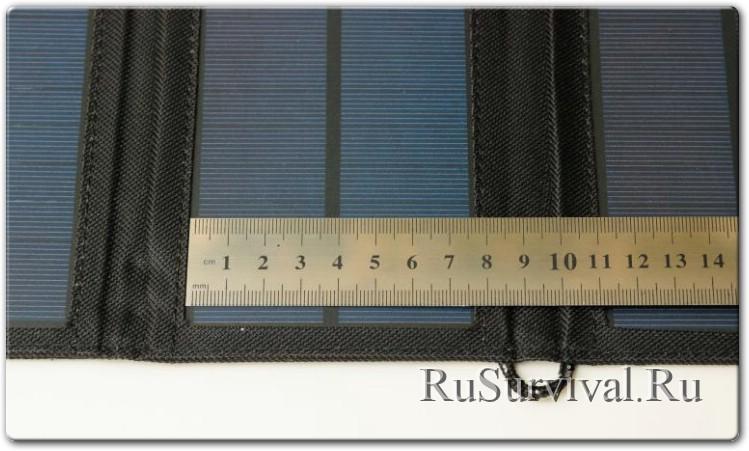 Зарядное устройство IPRee на солнечных батареях с заявленной мощностью 7W