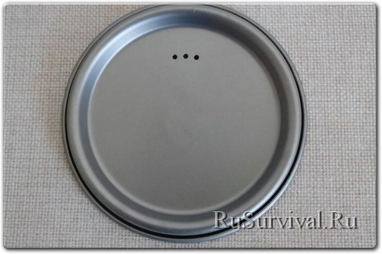 Титановая кружка-котелок Lixada Ultralight 750ml
