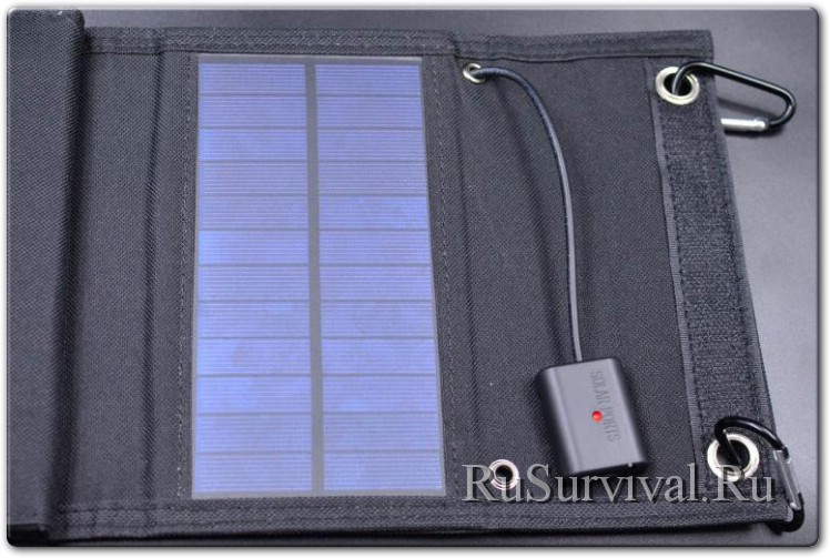 Раскладная походная солнечная панель 10W