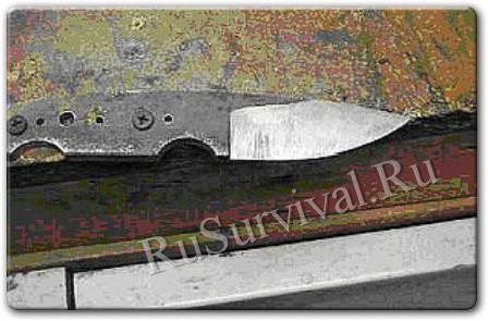Ножи из подручных материалов видео