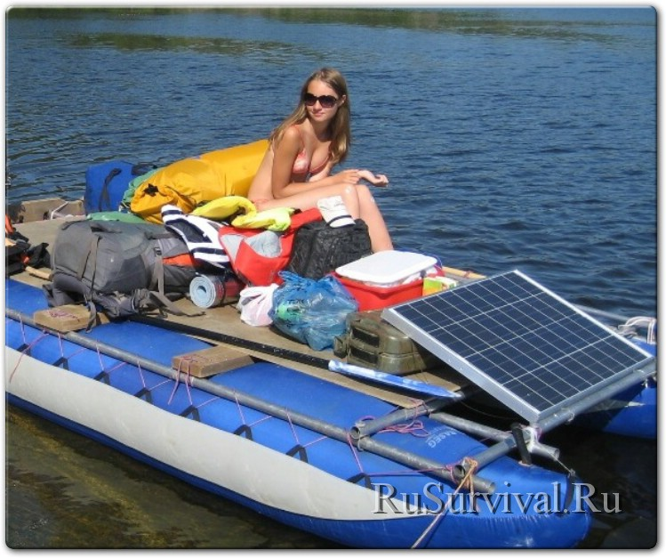солнечные батареи для лодочных электромоторов